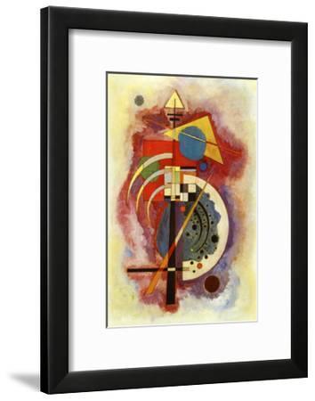 Hommage to Grohmann-Wassily Kandinsky-Framed Art Print
