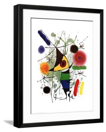 The Singer-Joan Mir?-Framed Art Print