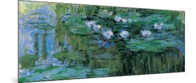 Waterlilies-Claude Monet-Mounted Art Print