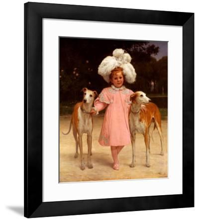 Alice Antoinette-Jan Van Beers-Framed Art Print