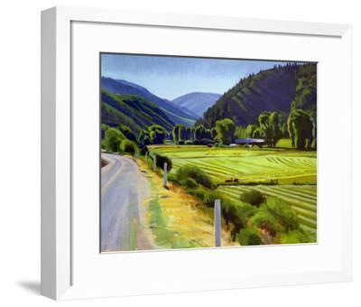Harvest Brush Creek Canyon-Marcia Burtt-Framed Art Print