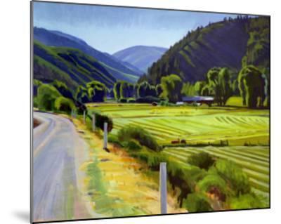 Harvest Brush Creek Canyon-Marcia Burtt-Mounted Art Print