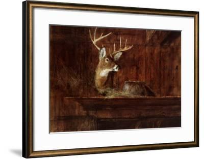 Eleven Pointer, 1985-Thomas William Jones-Framed Art Print