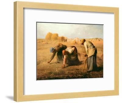 The Gleaners, 1857-Jean-Fran?ois Millet-Framed Art Print
