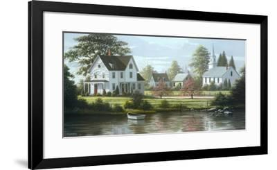 River's Edge-Bill Saunders-Framed Art Print
