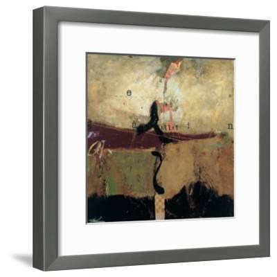 Abstract Variation, No. 29-T^ L^ Lange-Framed Art Print