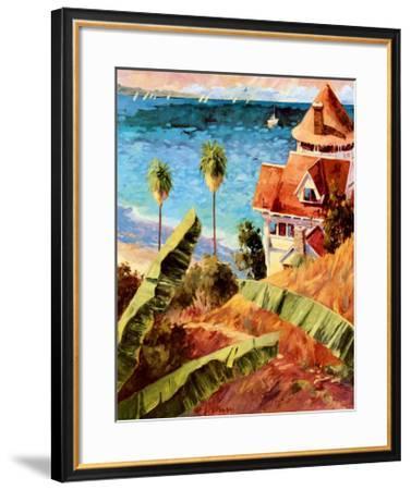 Catalina-Michael Hallinan-Framed Art Print