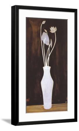 Lotus and Arum Bouquet-Sanyu-Framed Art Print