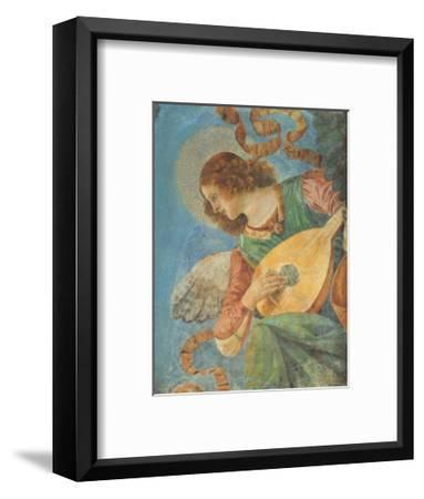 Angel with Lute-Melozzo da Forl?-Framed Art Print