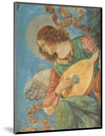 Angel with Lute-Melozzo da Forl?-Mounted Art Print