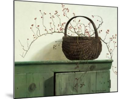 Wild Rose Berries-Pauline Ebl? Campanelli-Mounted Art Print