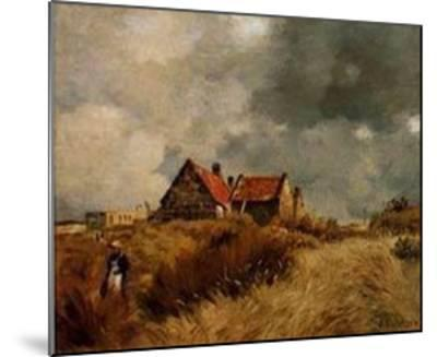 Cottage in the Dunes-Jean-Charles Cazin-Mounted Art Print