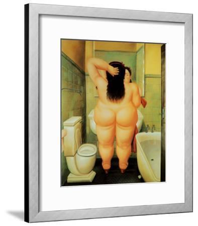 Bath-Fernando Botero-Framed Art Print