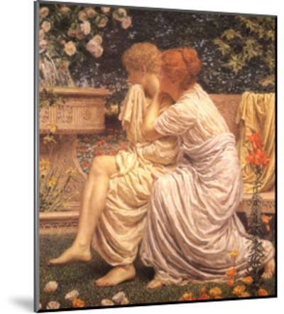 An Idyll-Albert Joseph Moore-Mounted Art Print