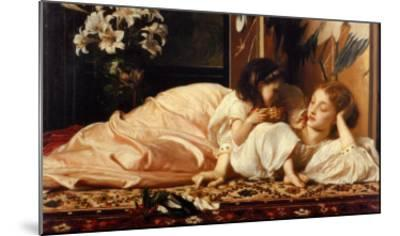 Mother and Child-Frederick Leighton-Mounted Art Print