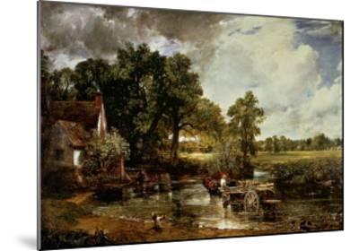 The Haywain, 1819-John Constable-Mounted Art Print