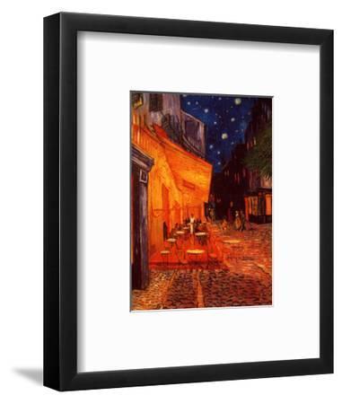 Terrasse De Cafe La Nuit Art Print By Vincent Van Gogh Art Com