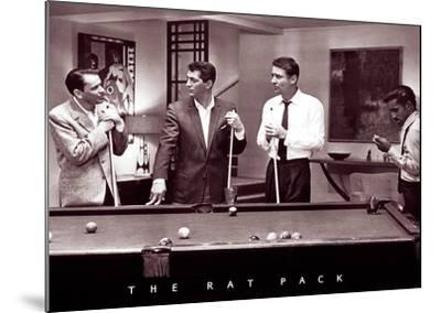 The Rat Pack--Mounted Poster