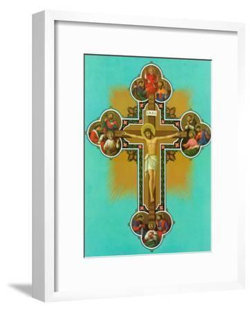 Apostelkreuz--Framed Art Print