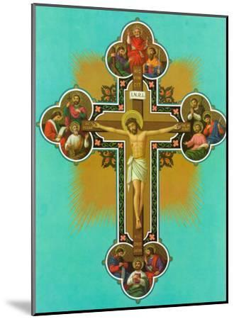 Apostelkreuz--Mounted Art Print