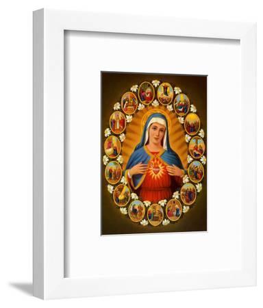 Leben der Heiligen Jungfrau--Framed Art Print