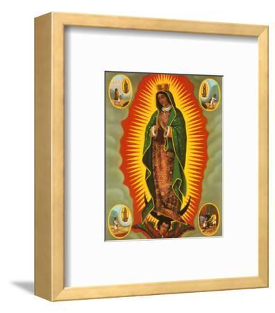 Madonna--Framed Art Print