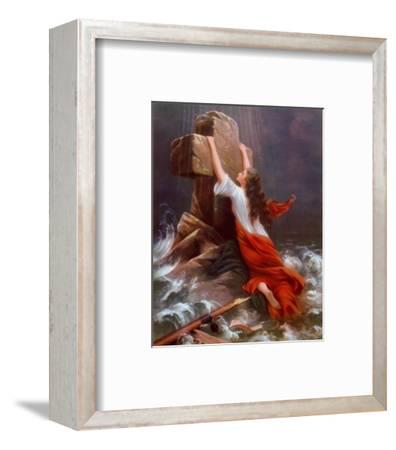 Rettung--Framed Art Print