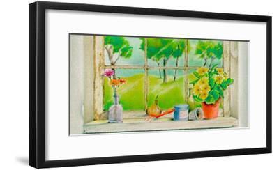 Springtime Vista-Vicente Bueno-Framed Art Print