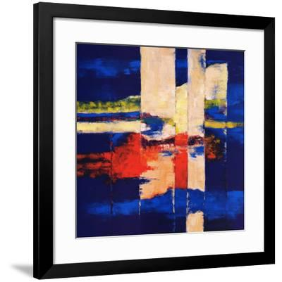 Connection-Ricky Damen-Framed Art Print