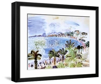 La Promenade des Anglais, c.1928-Raoul Dufy-Framed Art Print