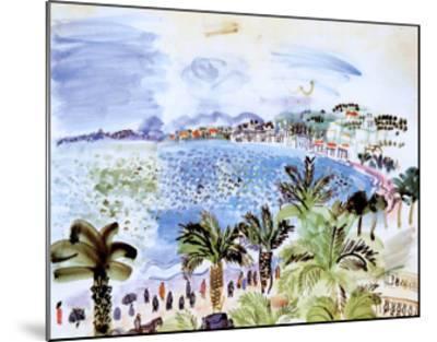 La Promenade des Anglais, c.1928-Raoul Dufy-Mounted Art Print