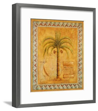 Palm Tree II-Javier Fuentes-Framed Art Print