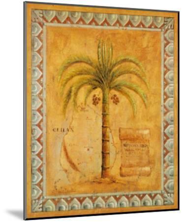 Palm Tree II-Javier Fuentes-Mounted Art Print