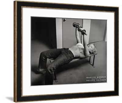 Marilyn Monroe, Hollywood 1952-Philippe Halsman-Framed Art Print