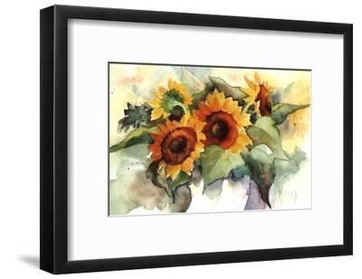 Flower Composition IV-Franz Heigl-Framed Art Print