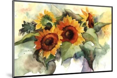 Flower Composition IV-Franz Heigl-Mounted Art Print