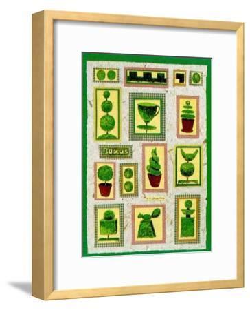 Buxus-Alie Kruse-Kolk-Framed Art Print