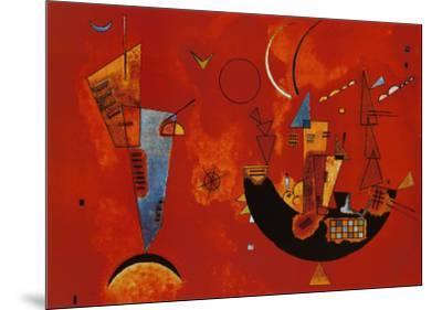 Mit und Gegen, c.1929-Wassily Kandinsky-Mounted Art Print