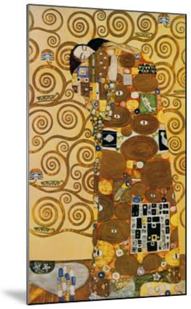 Fulfillment, Stoclet Frieze, c.1909-Gustav Klimt-Mounted Art Print