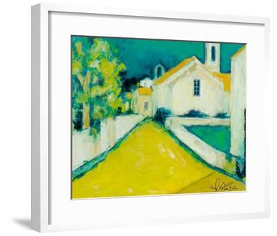 Piazza III-Alie Kruse-Kolk-Framed Art Print