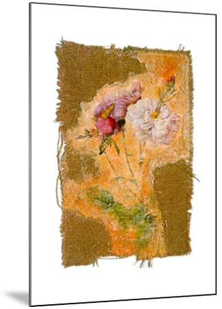 Abstract Roses I-Michel Lafontaine-Mounted Art Print