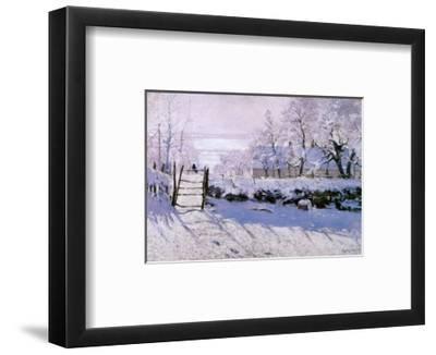 Magpie-Claude Monet-Framed Art Print