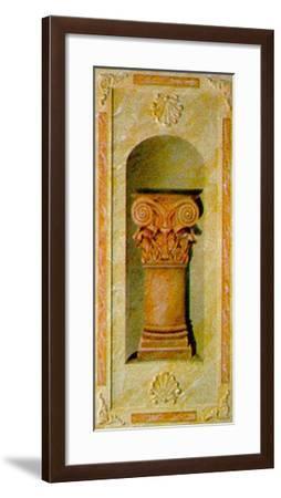 Capital I-Marina Mariani-Framed Art Print