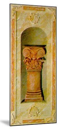 Capital I-Marina Mariani-Mounted Art Print
