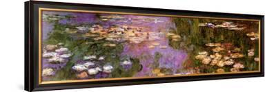 Water Lilies I-Claude Monet-Framed Art Print