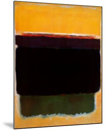 Untitled, 1949-Mark Rothko-Mounted Art Print