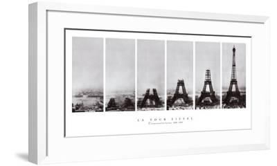 Tour Eiffel--Framed Art Print