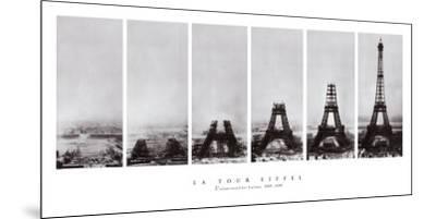 Tour Eiffel--Mounted Art Print