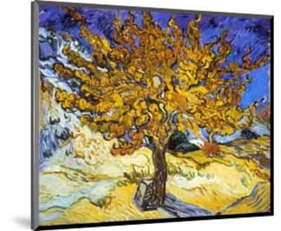 Mulberry Tree, c.1889-Vincent van Gogh-Mounted Art Print