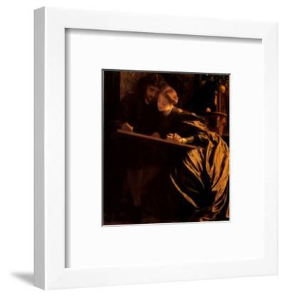 The Painter's Honeymoon, 1864-Frederick Leighton-Framed Art Print